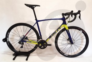 Ridley X-Trail Carbon Ultegra Di2 (BLUE-YELLOW)